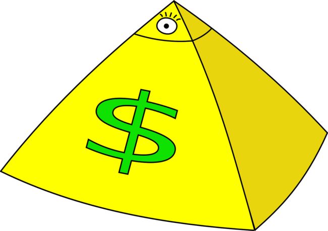 Jak działają piramidy finansowe - kiedy powinna zapalić się czerwona lampka?